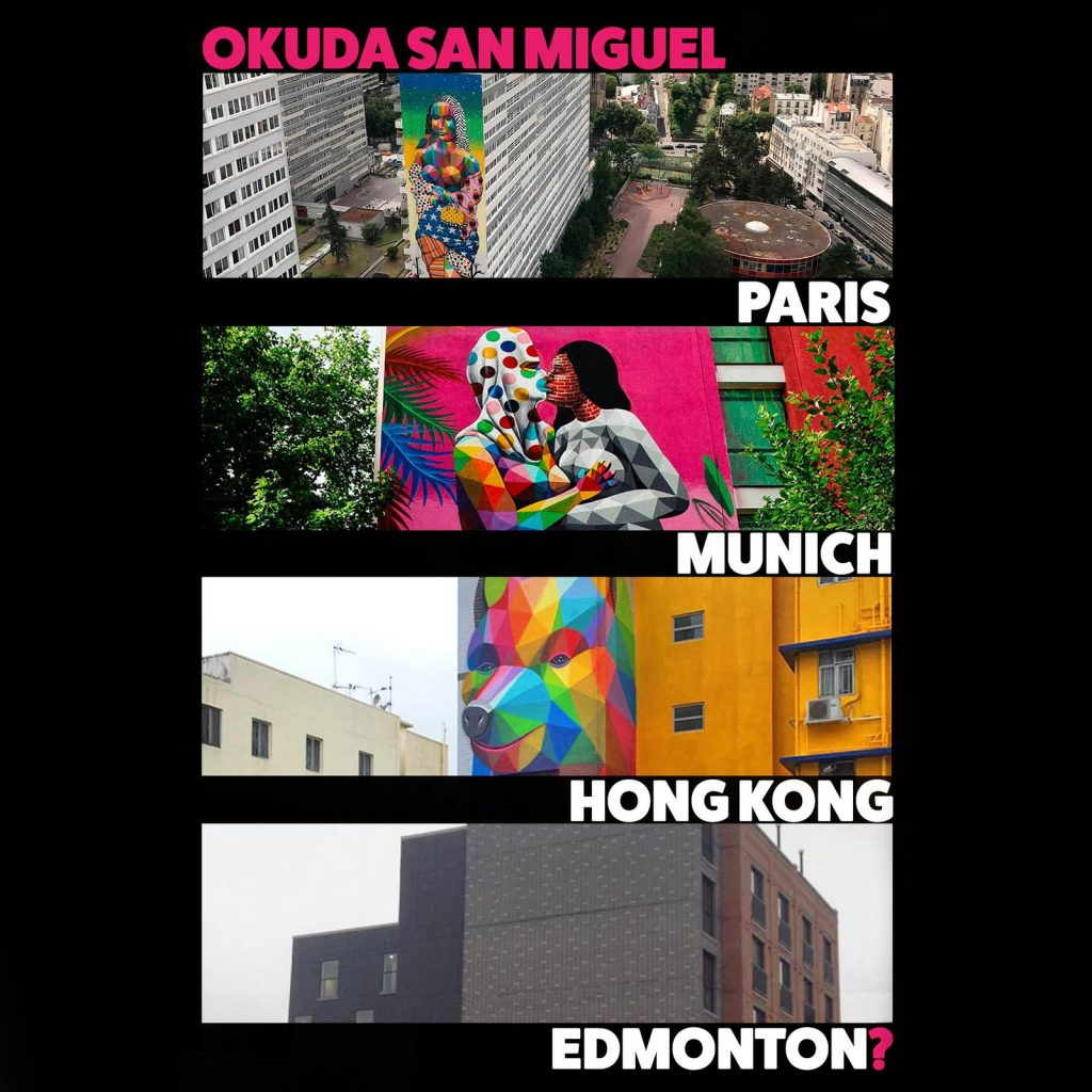 Imagine Okuda Banner Edmonton