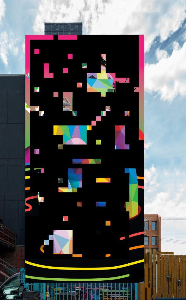 Imagine Okuda Edmonton Mural Artist