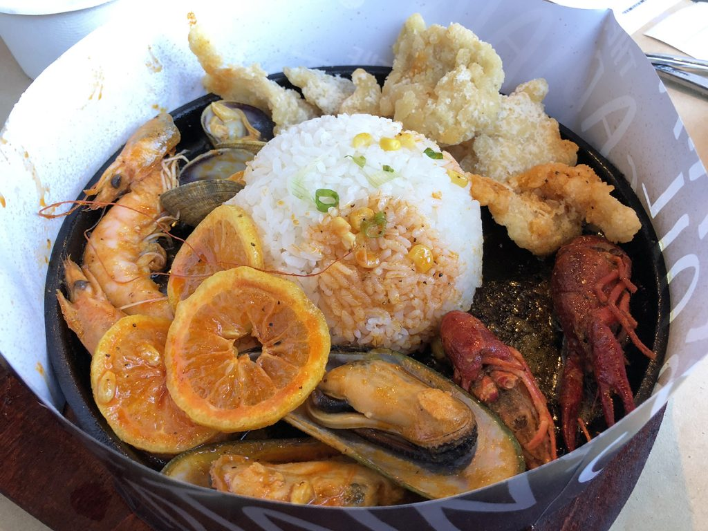 The Captains Boil Edmonton South Common Seafood Lobster Boil