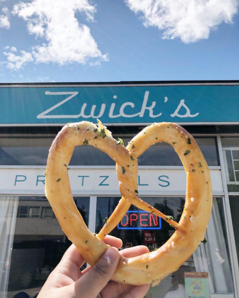 Zwick's Pretzels Edmonton 124 Street