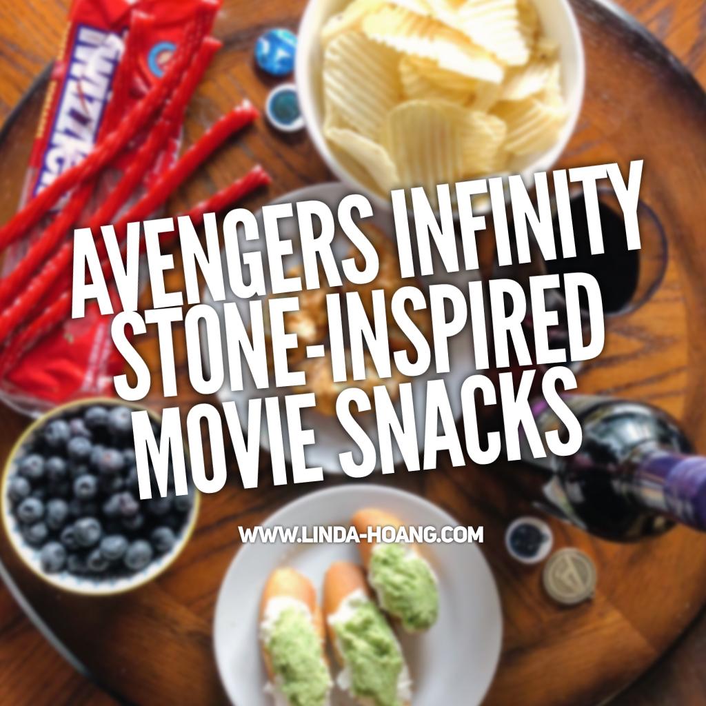 Infinity Stone Inspired Movie Snacks Avengers Infinity War Edmonton Food Team TELUS Ambassador