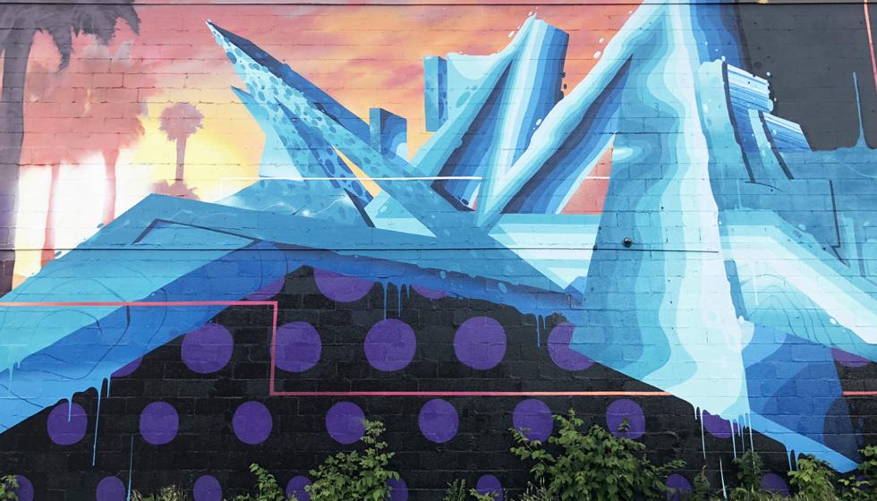 Instagrammable Walls 124 Street Edmonton