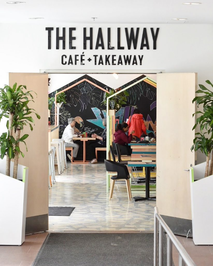 The Hallway Cafe and Takeaway City Hall Downtown Edmonton Restaurant