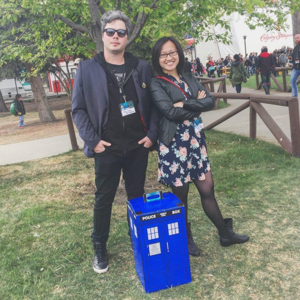 Edmonton Expo Comic and Entertainment Doctor Who