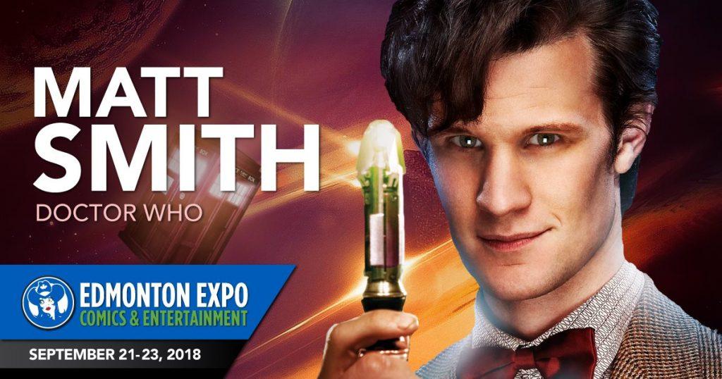 Matt Smith - Edmonton Expo Comics Entertainment