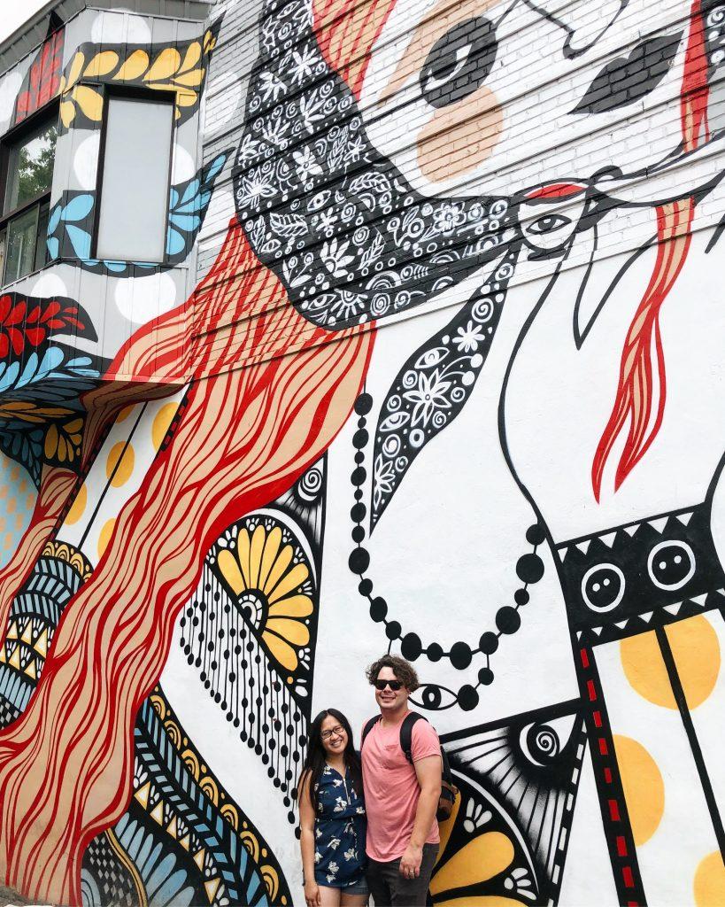 Montreal Instagrammable Walls Street Art Murals