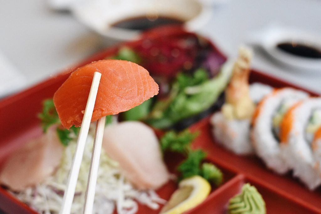Grande Cache Explore Alberta Travel Aurora Sushi Food