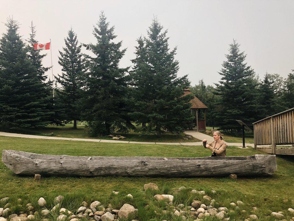 Grande Cache Explore Travel Alberta Dugout Canoe