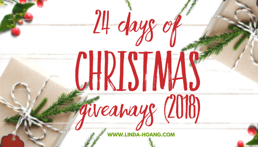 24 Days of Christmas Giveaways Linda Hoang Edmonton Food Restaurants