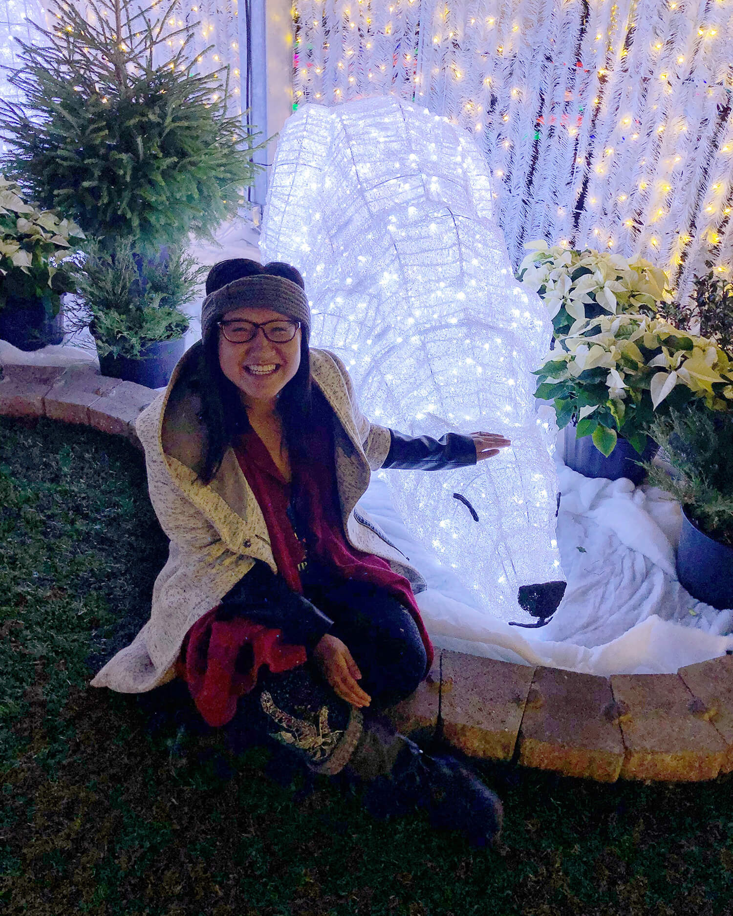 Glow Gardens Edmonton Christmas Festive Instagrammable Photos Enjoy Centre
