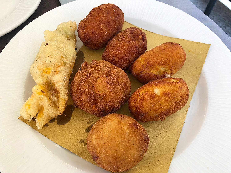Suppli Fritti rice ball Rome Classic Food Italy
