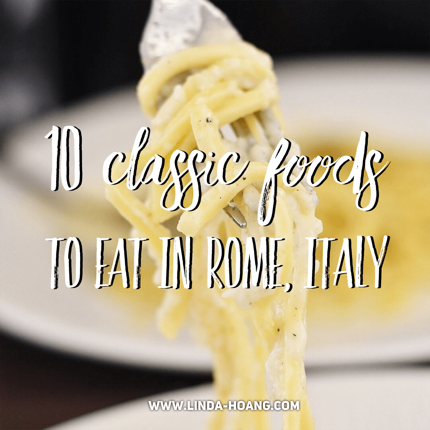 Travel Guide What to Eat in Rome Italy Roman Classics