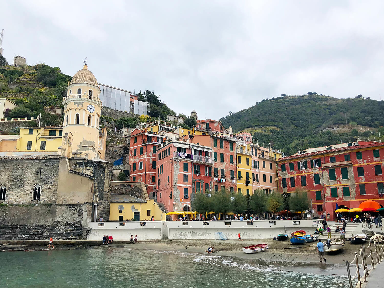 Manarola Cinque Terre Italy Five Villages Travel