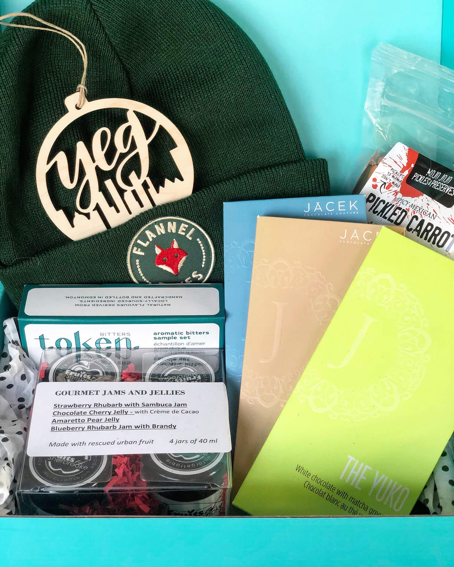 Edmonton Made Gifted Catalogue Taste of YEG Box