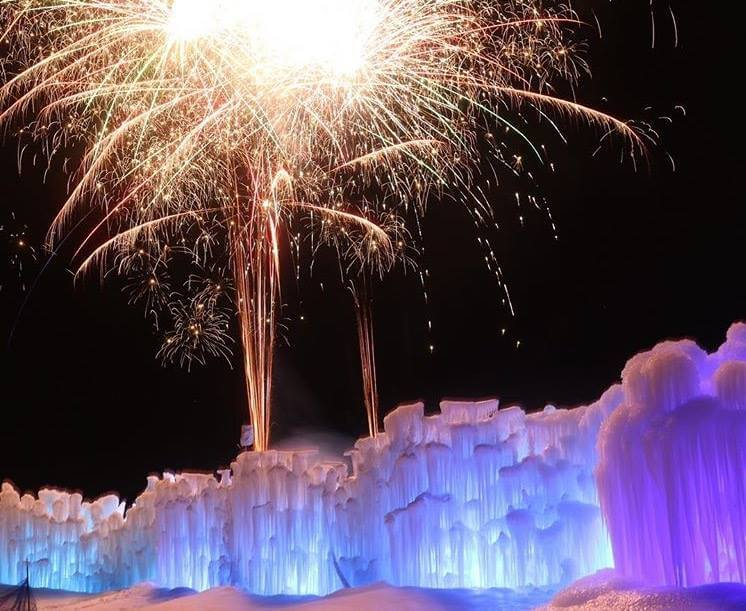 Ice Castles Edmonton Photo Credit Ice Castles Facebook