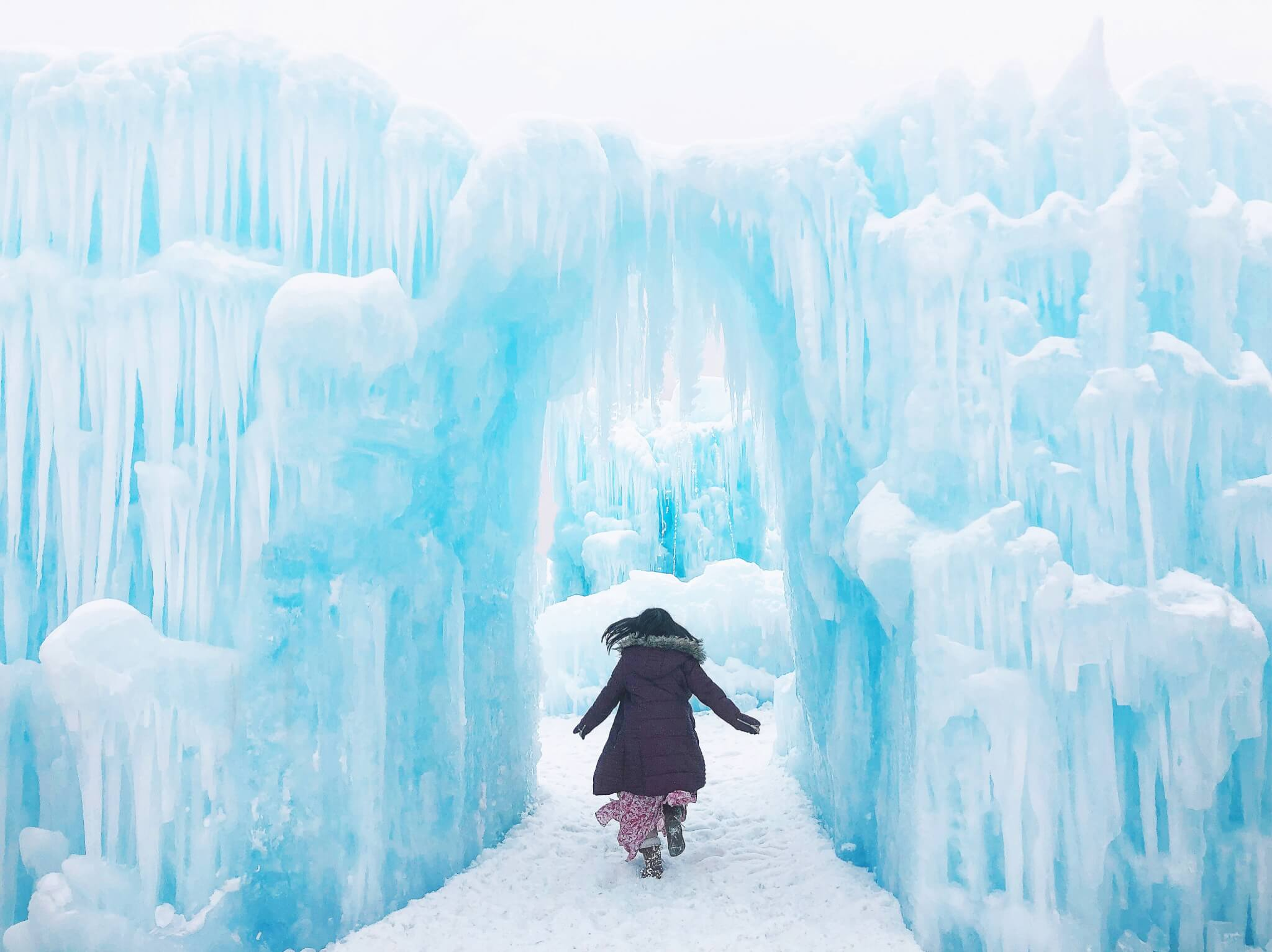 Explore Edmonton Ice Castle Hawrelak Park Winter City YEG