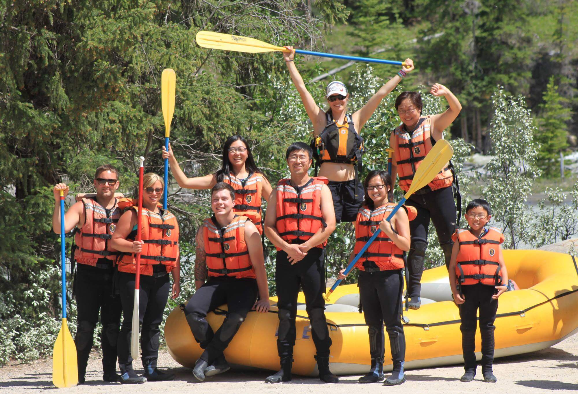 White Water Rafting Jasper Canada Adventure Explore Alberta