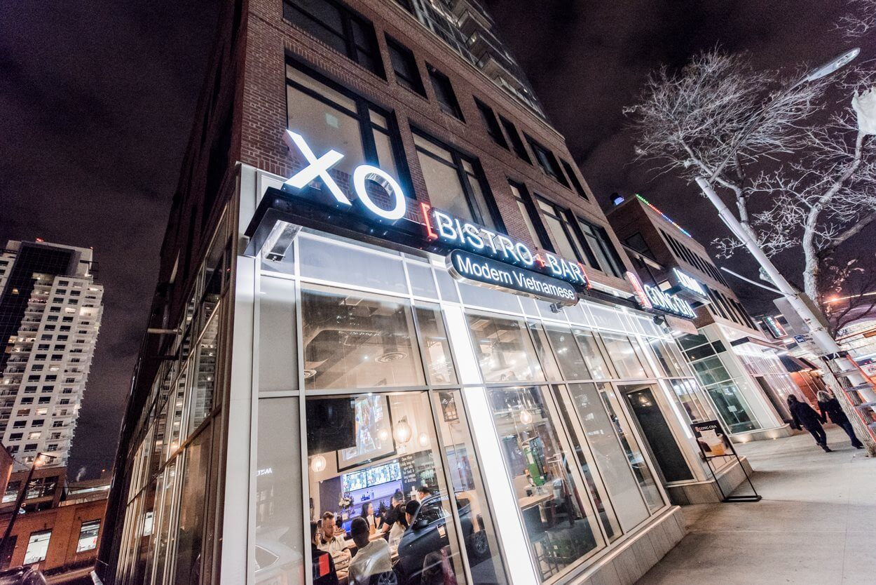 XO Bistro Bar Vietnamese Edmonton Restaurant