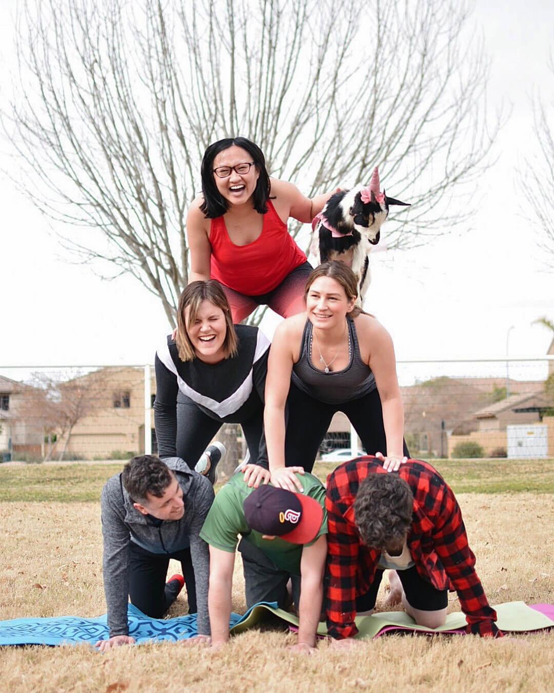 Goat Yoga Arizona Visit Mesa Gilbert Things To Do Travel Experiences