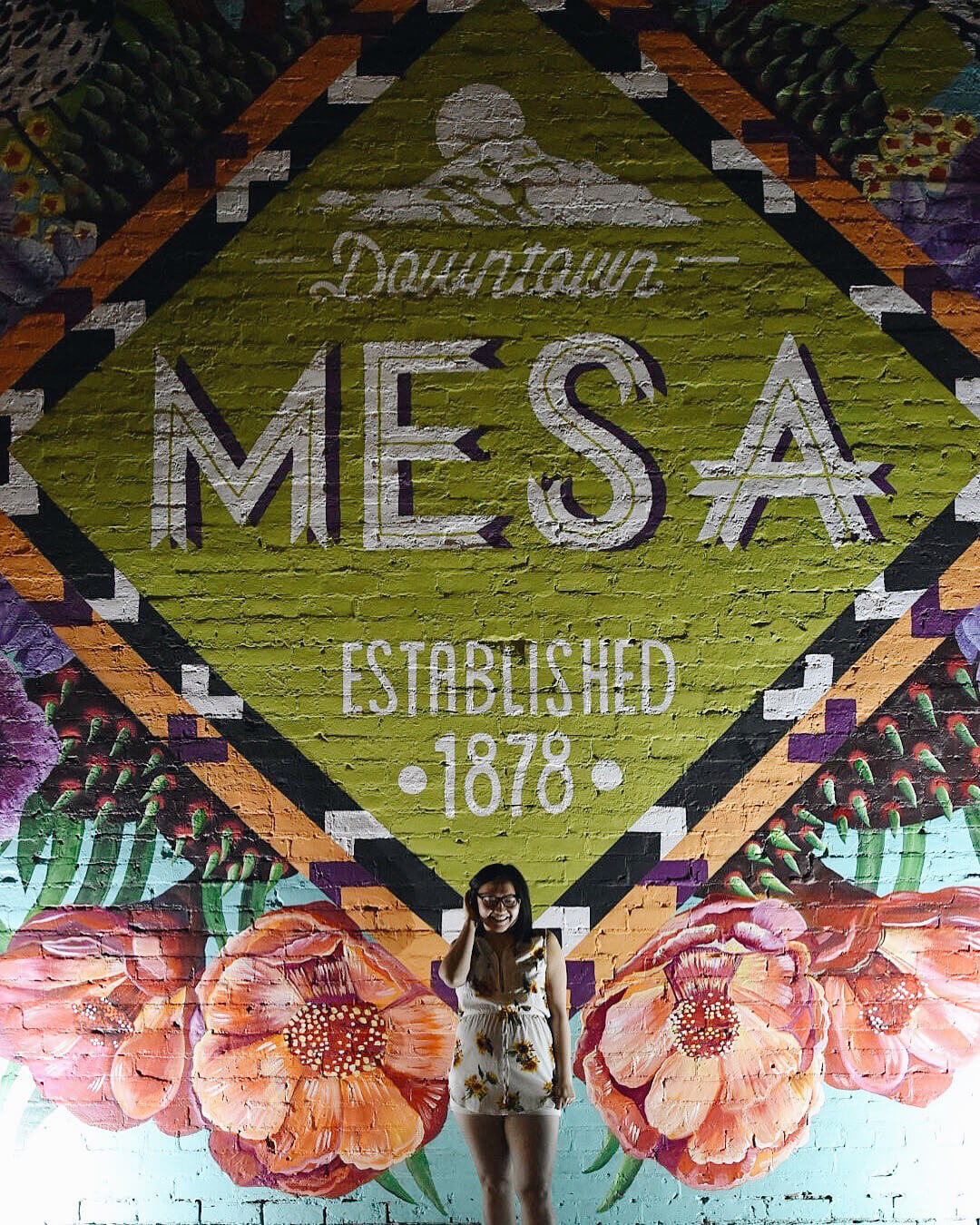 Instagrammable Walls of Mesa Arizona Murals Travel Visit Downtown