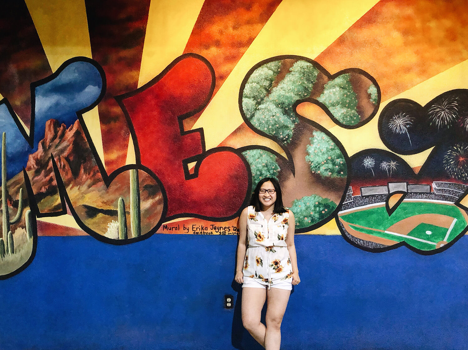 Instagrammable Walls of Mesa Arizona Murals - Travel Visit Downtown Mesa