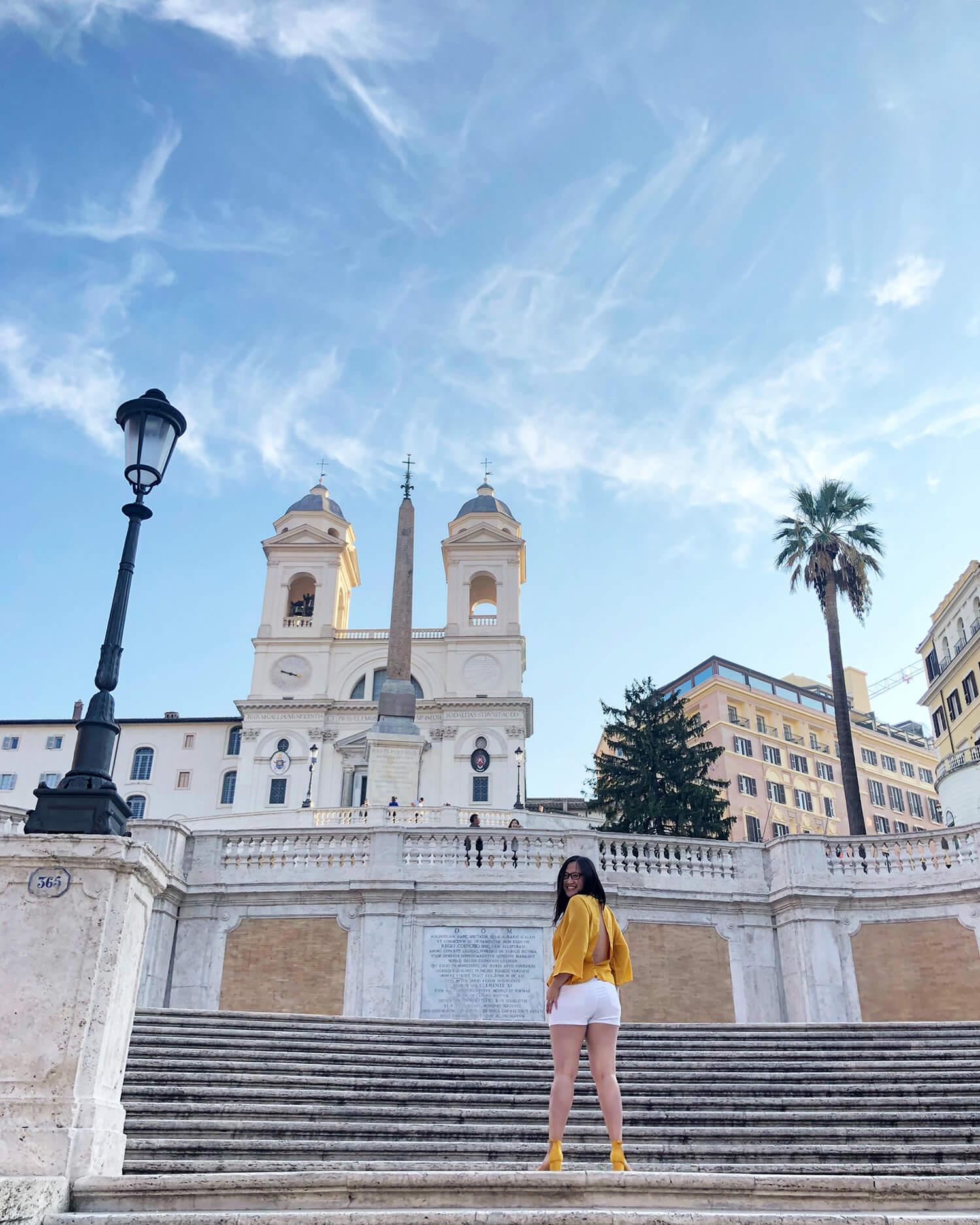Spanish Steps - Piazza di Spagna Piazza Trinita dei Monti - Travel Explore Rome Italy