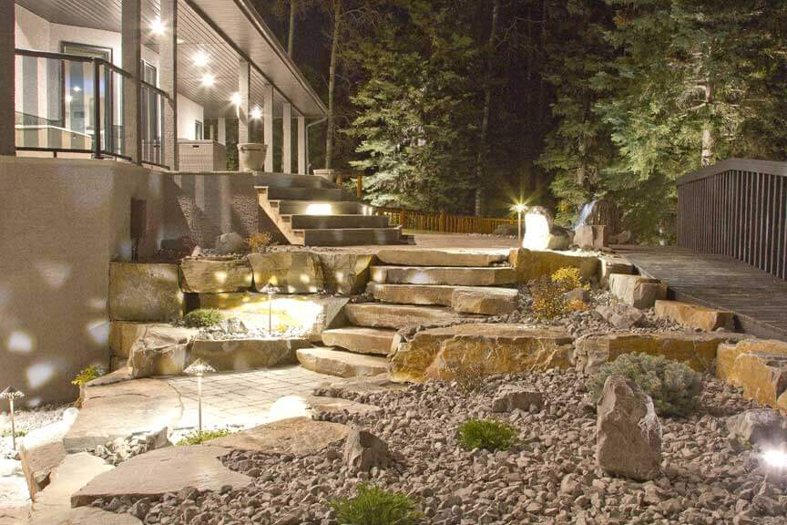 Edmonton Landscaping Backyard Wars (HML Construction)