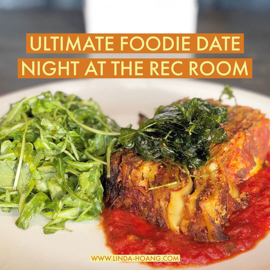 Ultimate Foodie Date Night at The Rec Room West Edmonton Mall