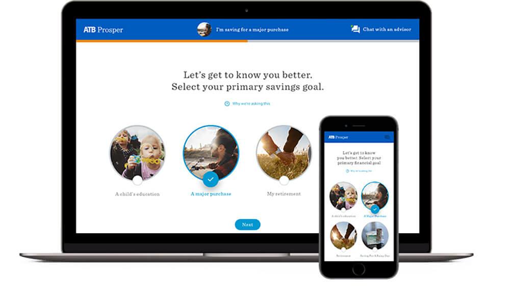 ATB Financial ATB Prosper Digital Investment Tool