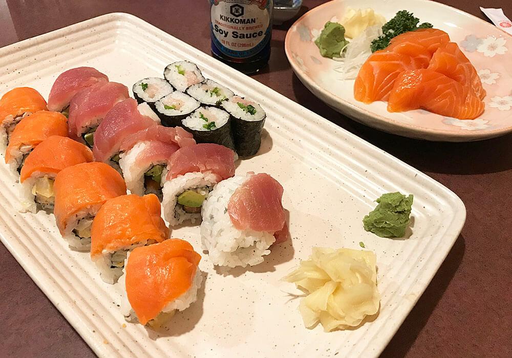 Ichiban Japanese Sushi Gluten Free Edmonton