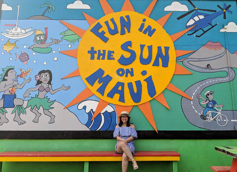 Instagrammable Walls Maui Hawaii Lahaina