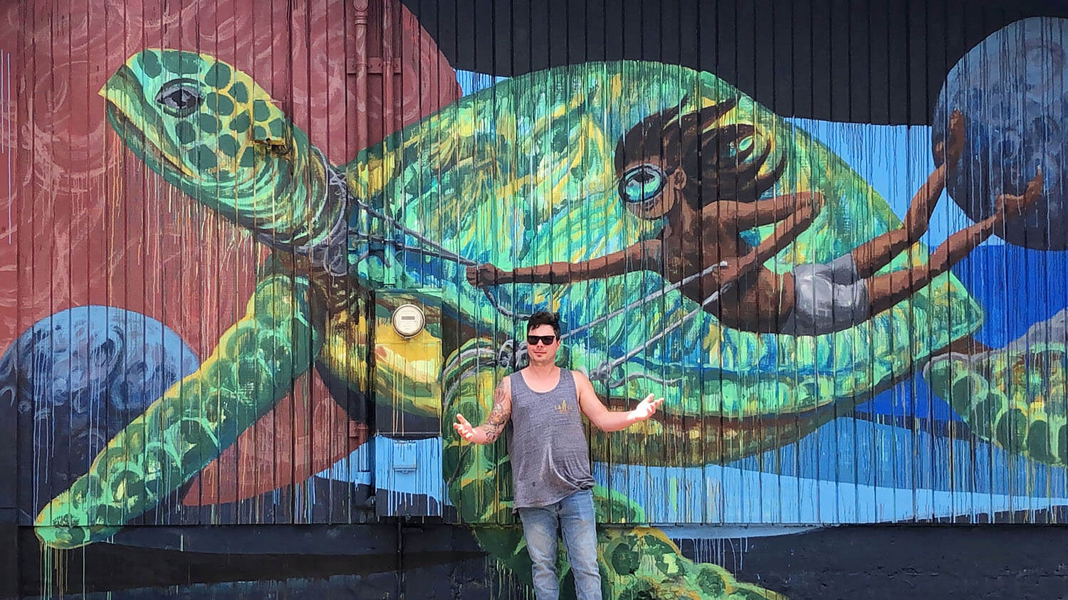 Instagrammable Walls Maui Hawaii Wailuku Murals