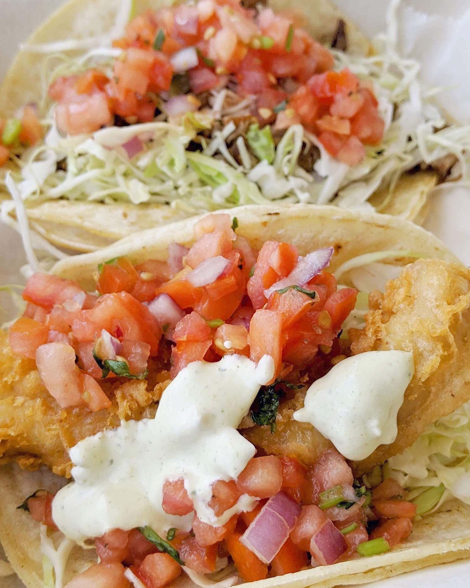 Fish and Pork Tacos Fish Market Maui Lahaina Kaanapali Food Travel Hawaii