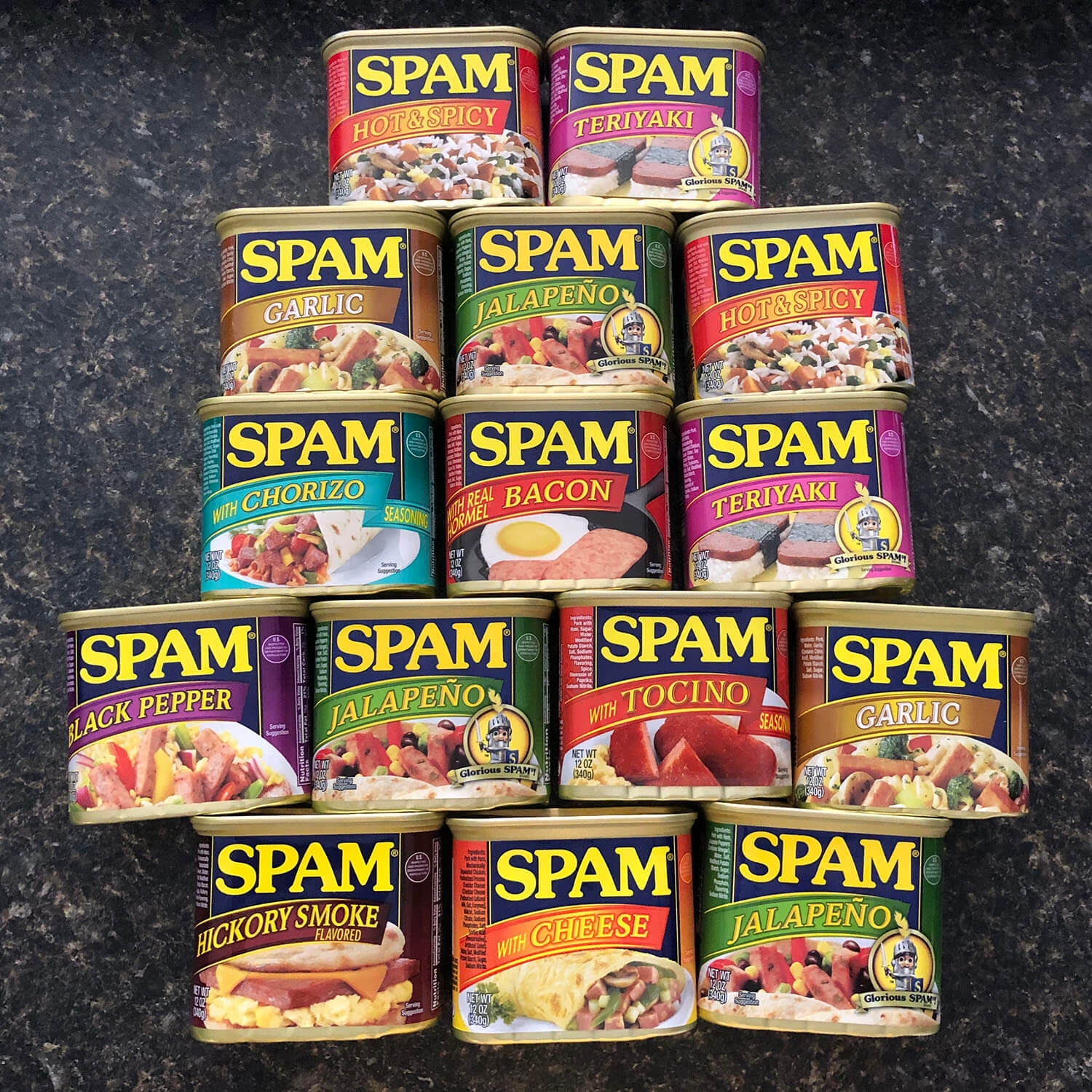 Spam Cans Foodland Maui Hawaii Food Travel