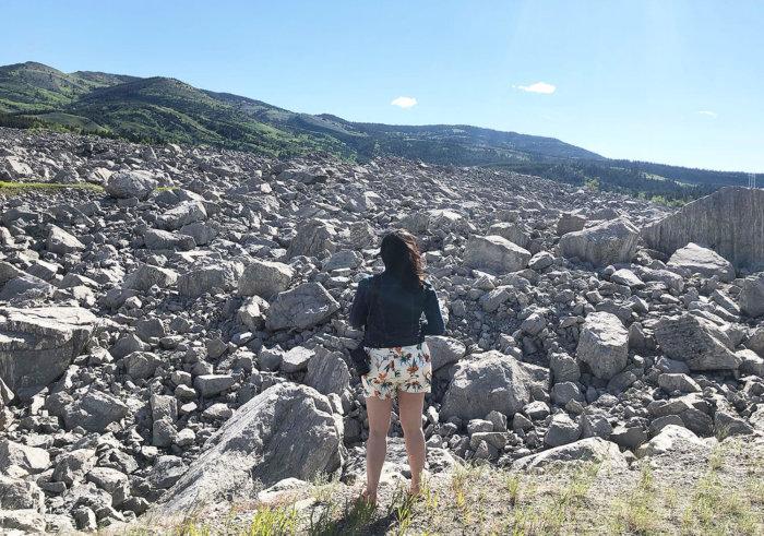 Frank Slide Alberta - Southern Alberta - Road Trip - Alberta History