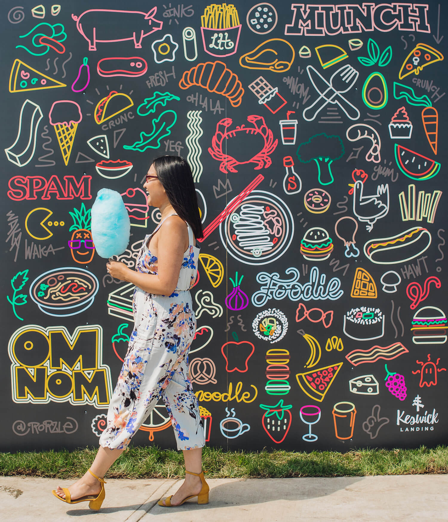 Keswick Landing - Instagrammable Walls - Explore Edmonton - Windermere - Rory Lee YEG Food Doodle