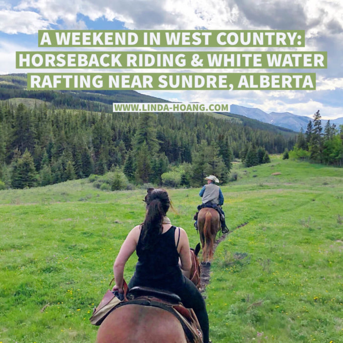 Travel Guide Weekend in West Country Sundre Travel Alberta Horseback Riding and White Water Rafting