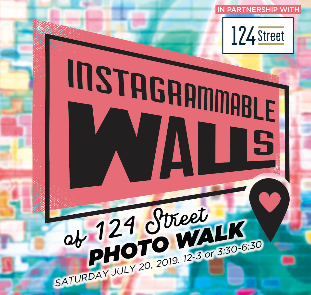 124 Street Instagrammable Wall Photo Walk Edmonton