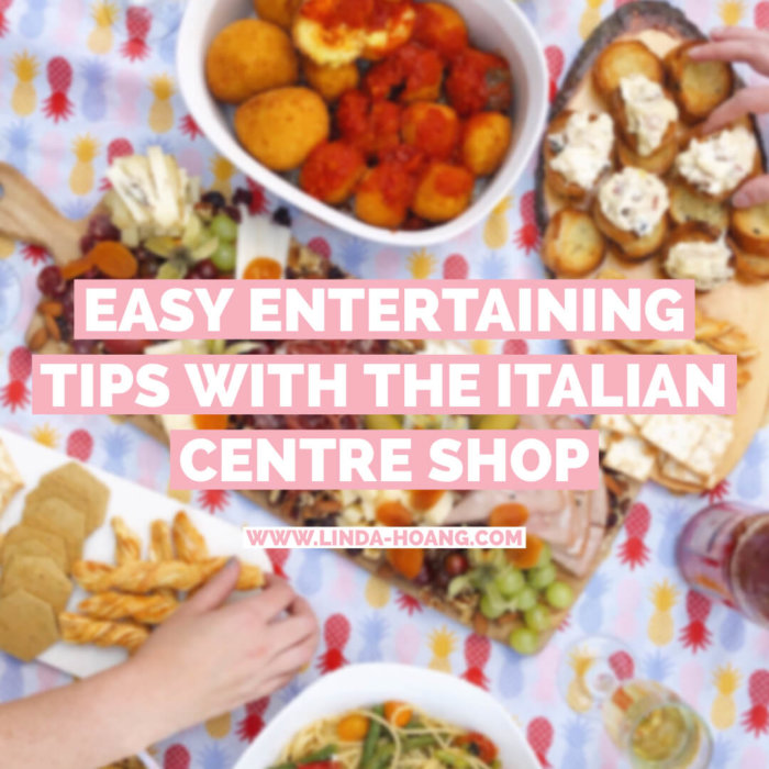 Edmonton - Italian Centre Shop - Home Entertaining - Patio Party - Cooking - Easy Recipes