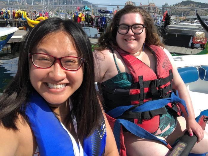 Explore Kelowna - British Columbia - BC - AMA Travel - Best Western - Ogopogo Parasail