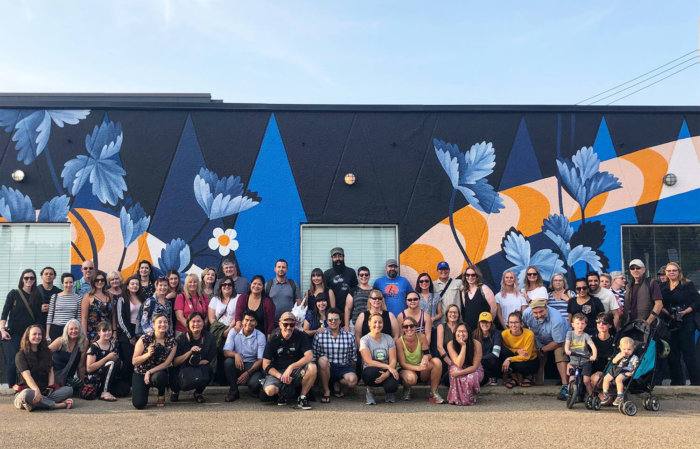 Instagrammable Walls of 124 Street - Edmonton - Tours