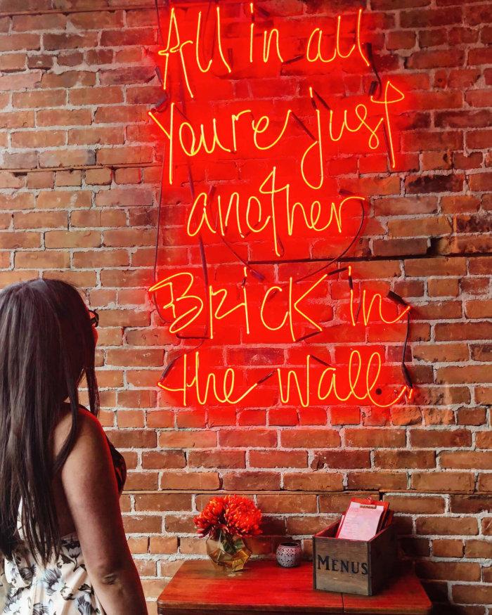 Salt & Brick - Instagrammable Wall - Kelowna BC