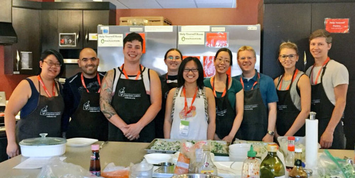 Meals that Mend Ronald McDonald House Volunteer Edmonton