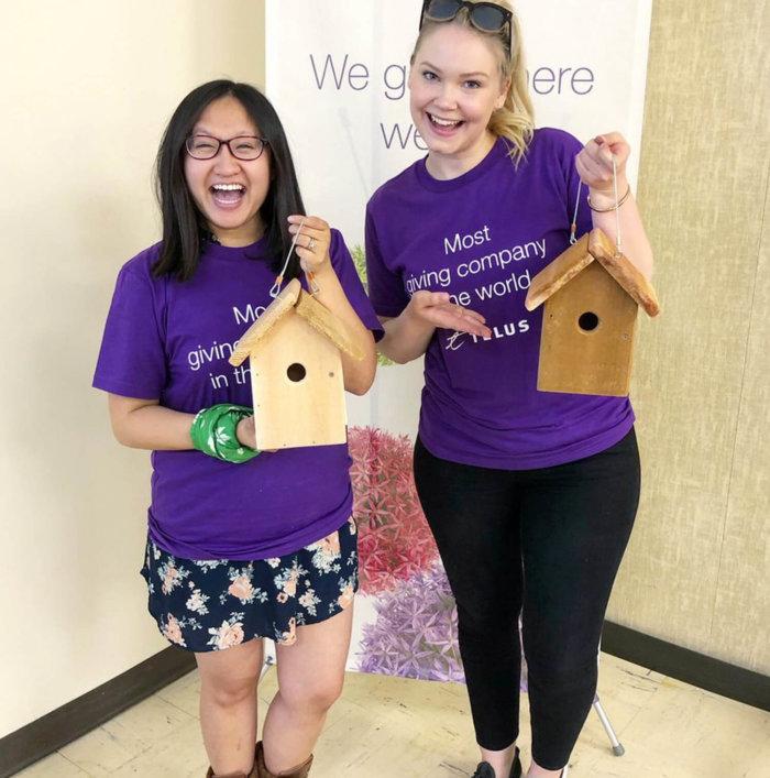 TELUS Give Where We Live - Nature Conservatory of Canada - Birds - Volunteer Edmonton