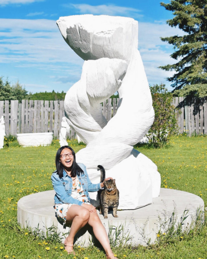 Travel Guide - Sundre Explore Alberta - Bergen International Sculpture Park Olds