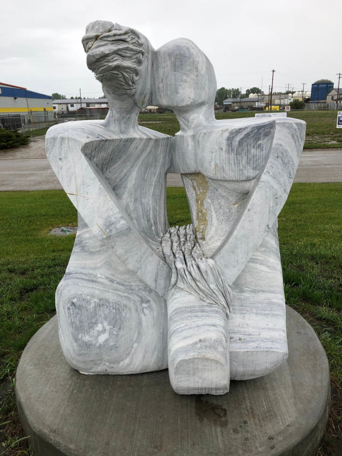 Travel Guide - Sundre Explore Alberta - Bergen International Sculpture Park Olds