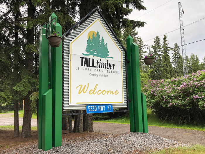 Travel Guide - Sundre Explore Alberta - Tall Timber RV Park