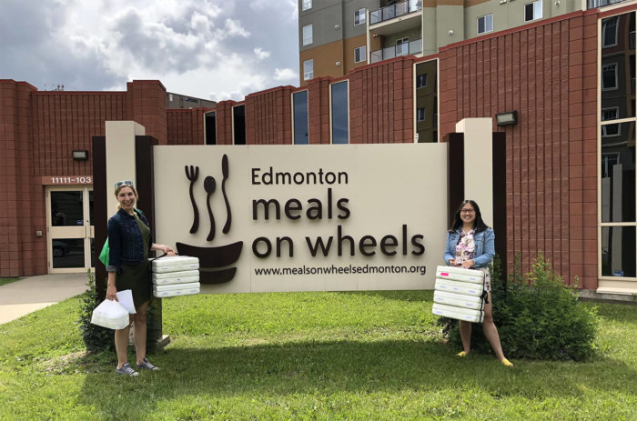 Volunteer Edmonton - Meals on Wheels - Food Delivery - TELUS Give Where We Live