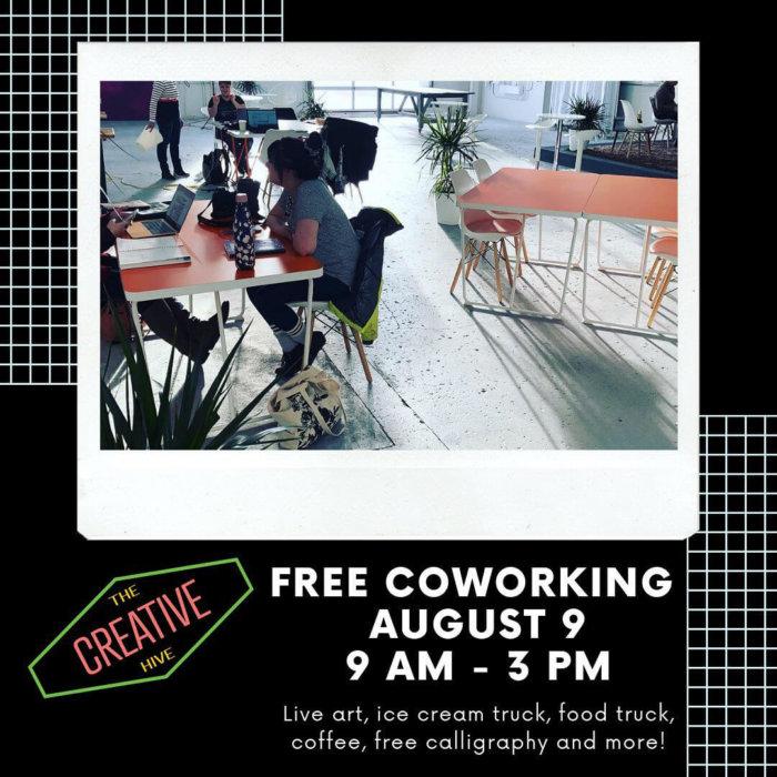 Cowork Week - The Creative Hive - Edmonton Coworking - Explore Edmonton - Business