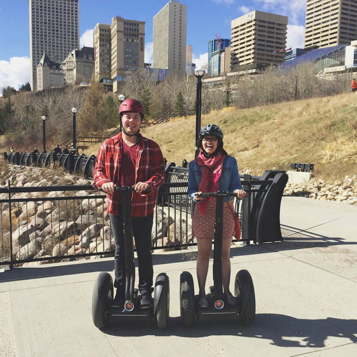 Explore Edmonton - River Valley Adventures - Segway